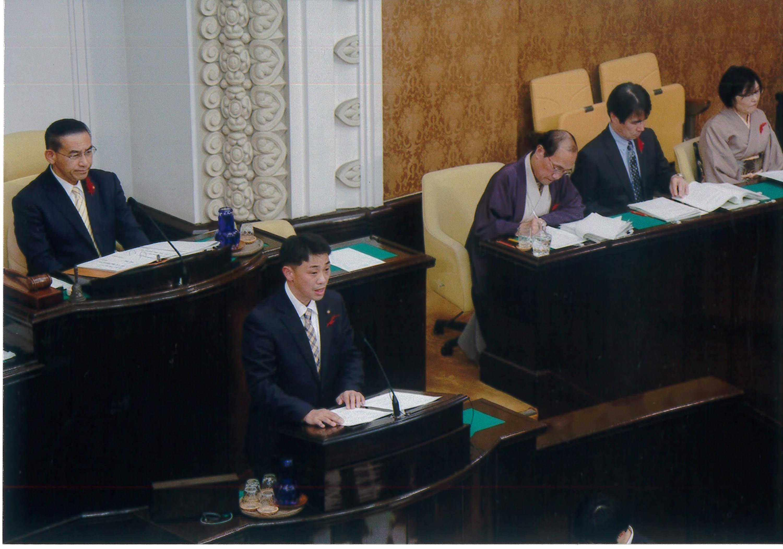 代表質問(平成29年11月議会)